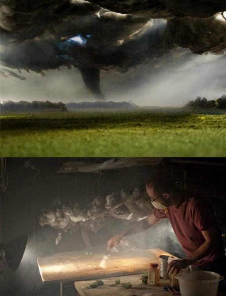 Буря в стакане воды на рабочем столе