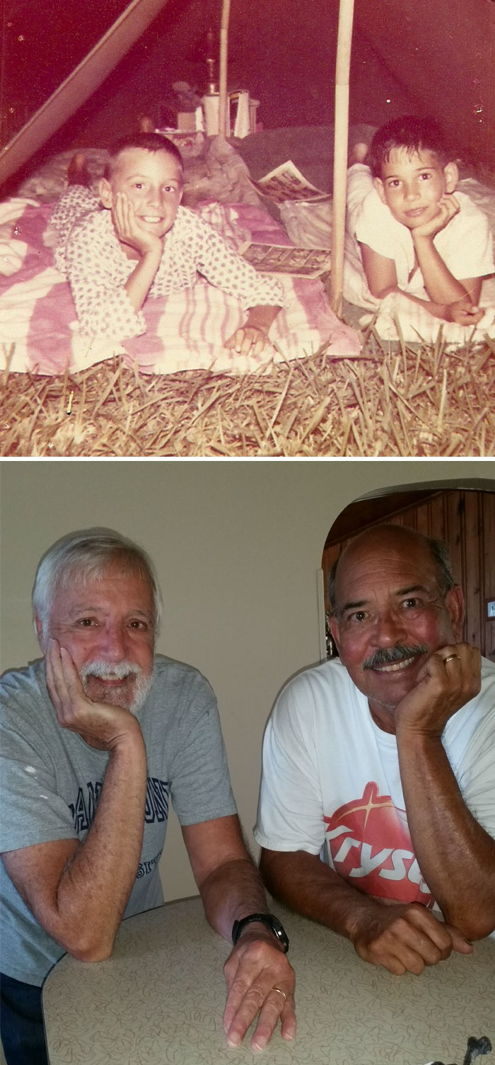 Как меняются люди спустя долгие годы дружбы