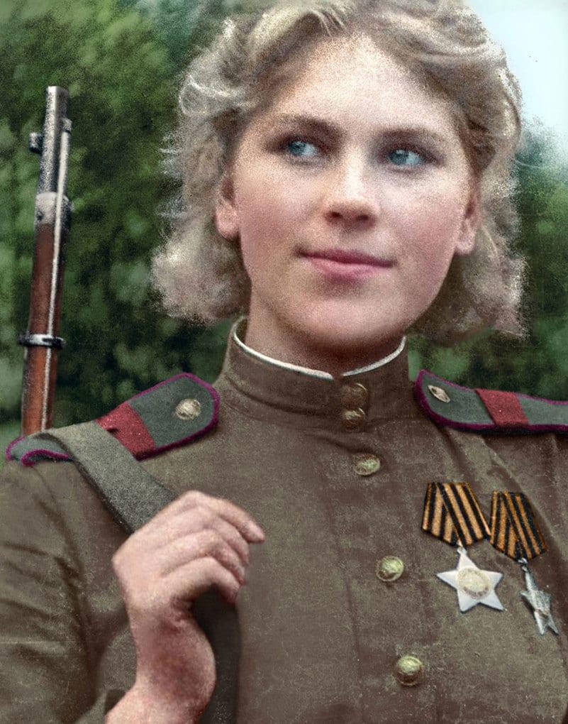 Снайпер Великой отечественной войны Роза Шанина