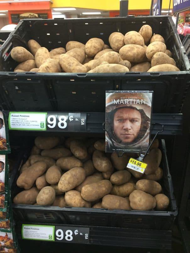 9. Гениальный маркетинговый ход для продажи картошки