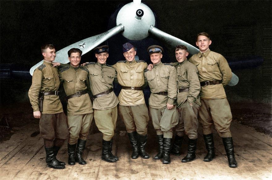 Лётчики Великой отечественной войны, 1943 год