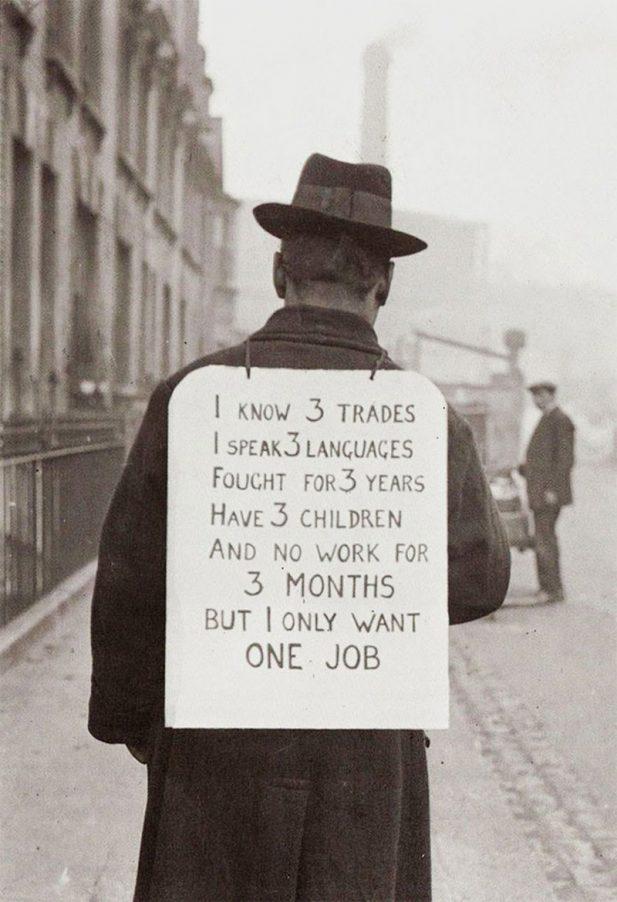 #10 Поиск работы в Америке в 30-е годы