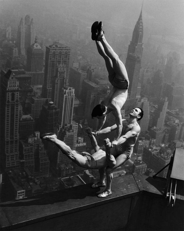 #13 Акробаты на Эмпайр-стейт-билдинг в 1934 году