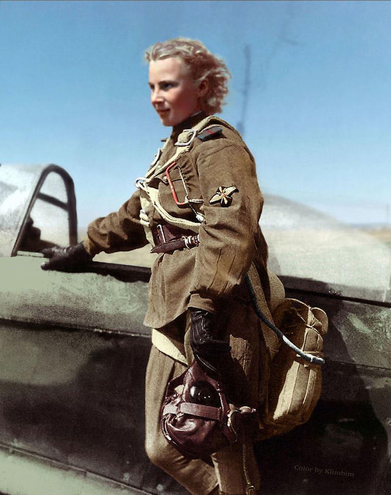 Лётчица Великой отечественной войны Лидия Литвяк