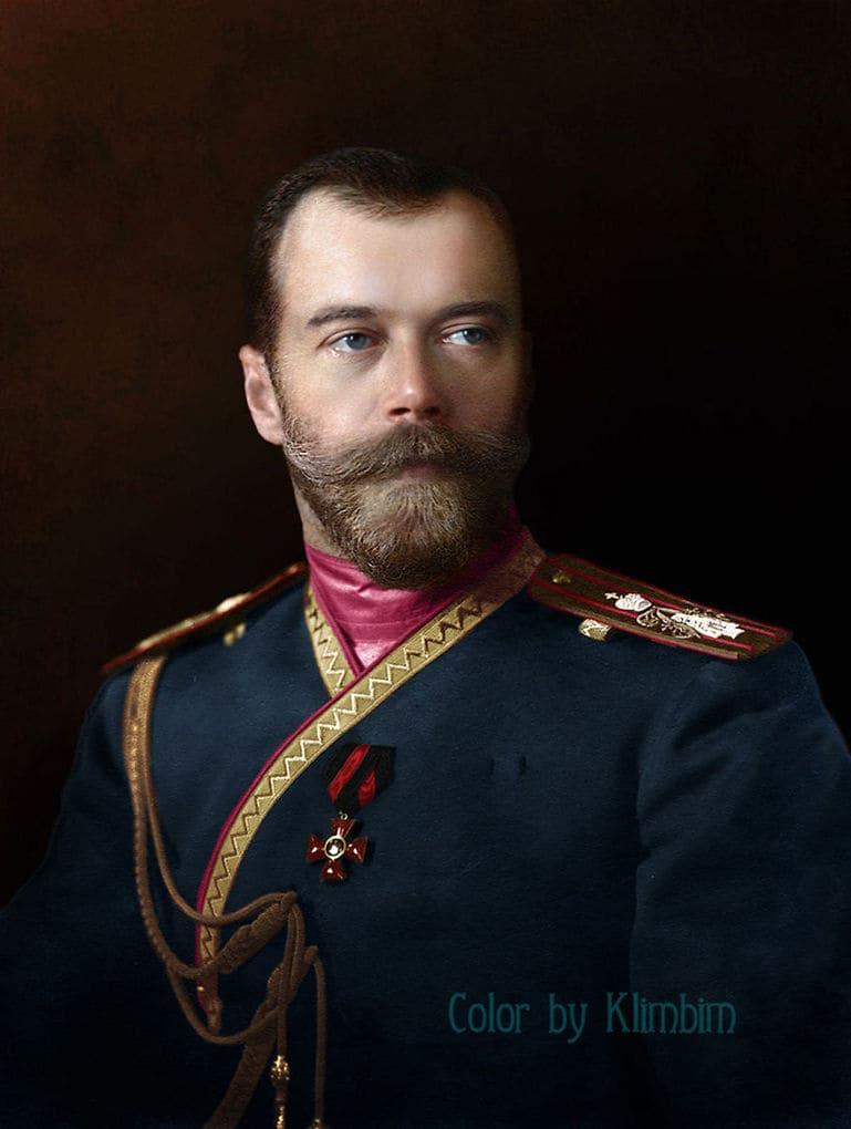 Николай II, портрет 1912 года