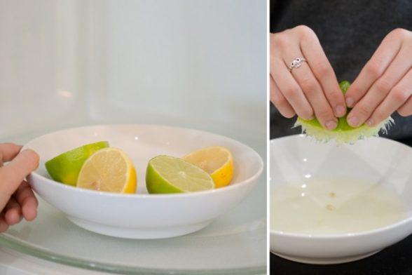 3. Сок легче выжмется, если вы нагреете цитрусовые в микроволновке.