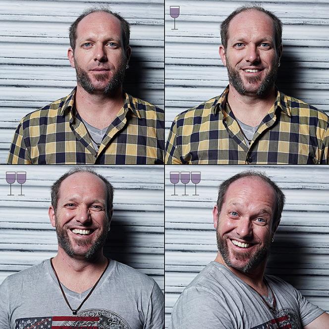 """Фотограф Маркос Альберти просто пил и шутил с друзьями, когда у него появилась идея проекта """"3 стакана""""."""