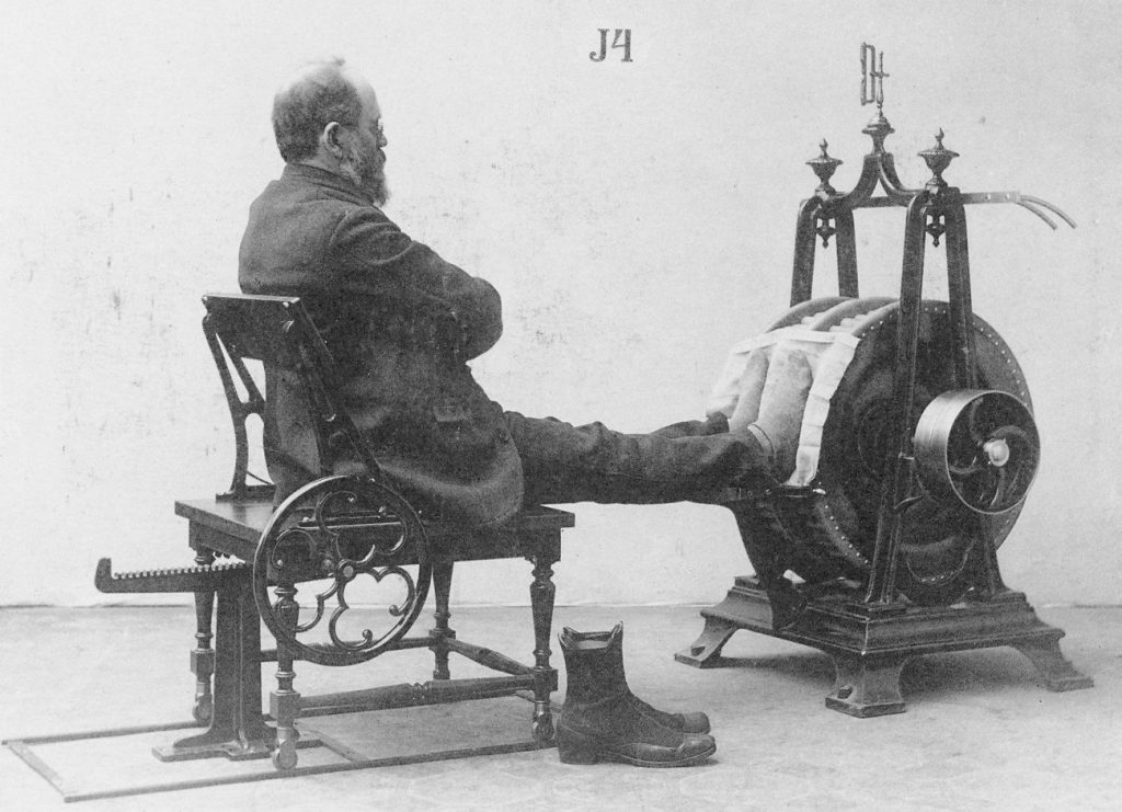 Старинный инструмент, предназначенный для лечения сердечно-сосудистых заболеваний, 1852.