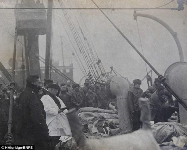 Количество жертв Титаника, 1912.