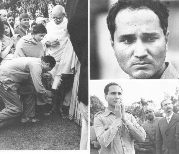 Секунды до убийства Ганди, 1948.