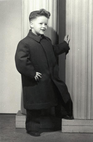 Билл Клинтон в 4 года, 1950.