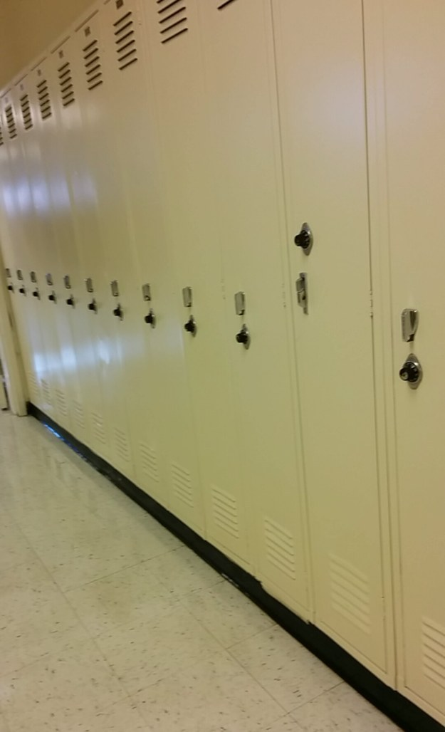 18. Худший шкафчик в мире.
