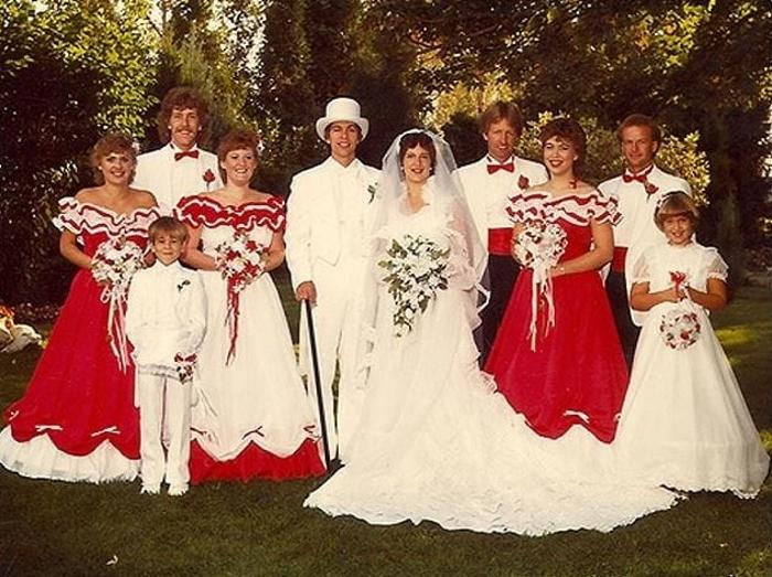 5. Судя по расцветке, свадьба проходит в Польше…