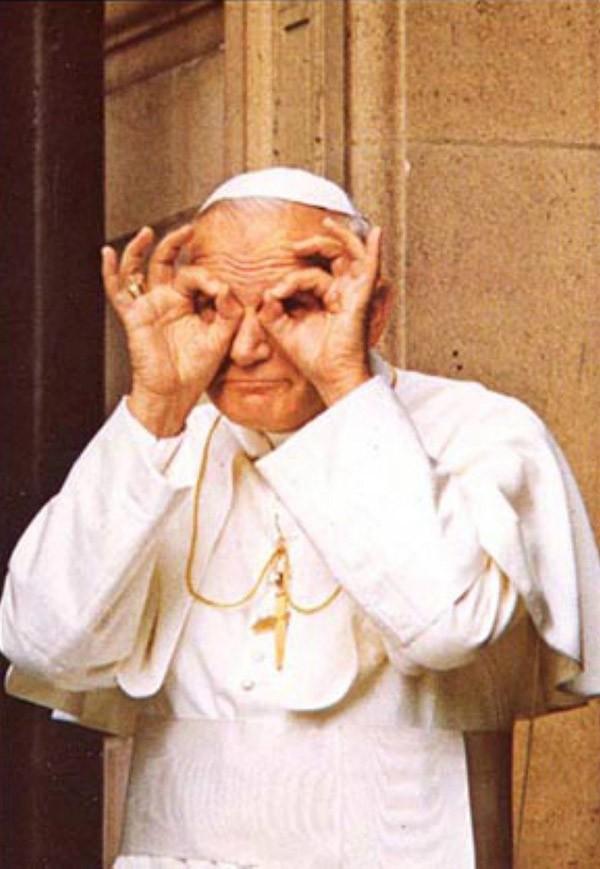 Иоанн Павел II — Кароль Войтыла.