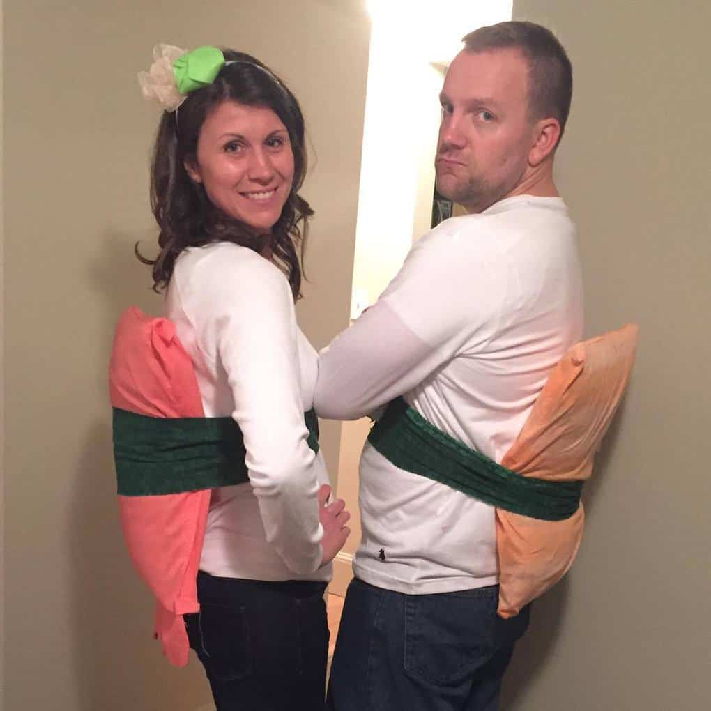 Мы должны были быть парочкой суши, но выглядит так, будто у нас ревматизм