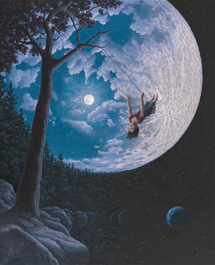 Выше луны.