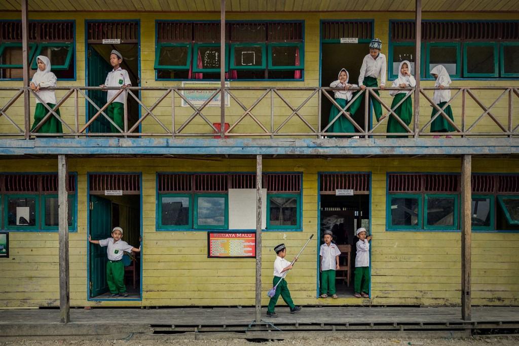 «Наверху и внизу». Автор фото: Сяоцин Чжан. Местоположение: Южный Калимантан, Индонезия.