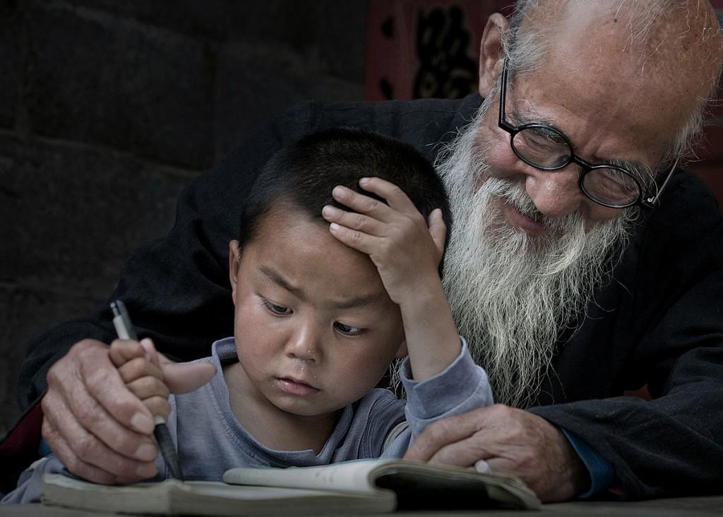 «Дедушка и внук». Автор фото: Ицзюн Ся.