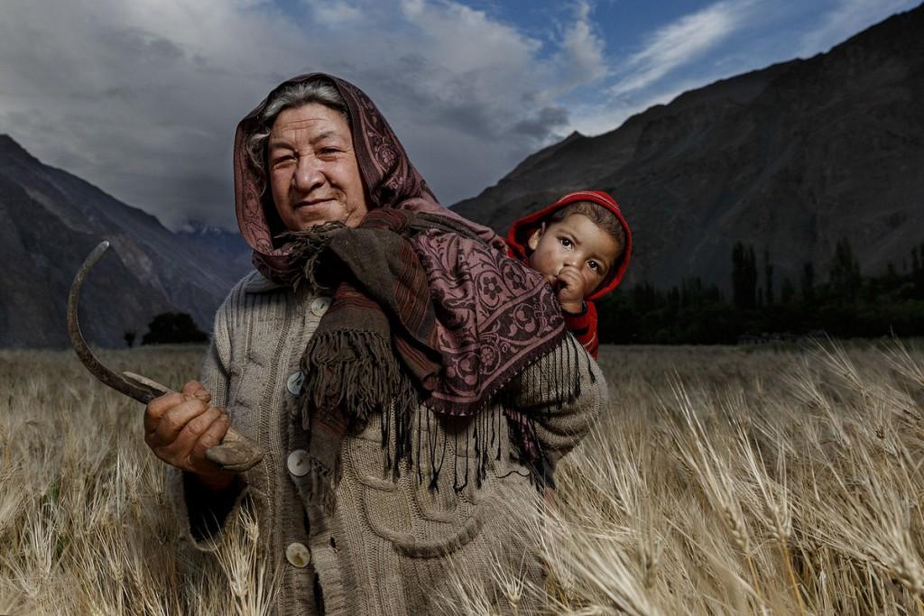 «Женщина в поле». Автор фото: Хамед Альгханбоси.