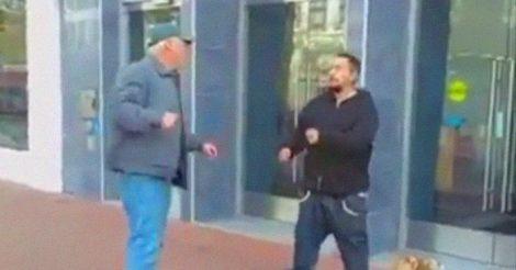 дал отпор уличному хулигану