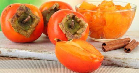 ярко-оранжевые плоды
