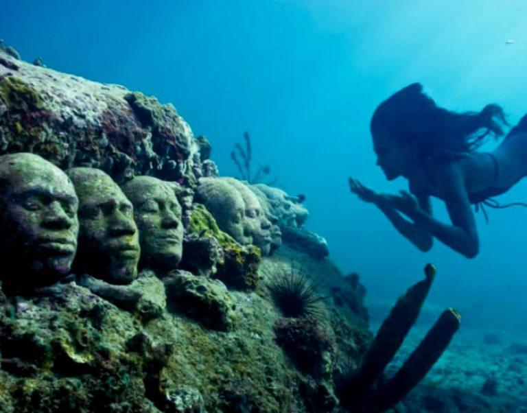 Гренадский подводный музей, который создал Джейсон ДеКер Тейлор.