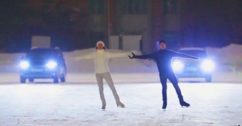танцевать на льду