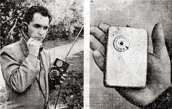 Изначально прибор весил около 3 кг, но Куприянов работал над его усовершенствованием и добился уменьшения объема при сохранении функциональности. Экрана телефон не имел, а номер набирался с помощью миниатюрного дискового механизма.