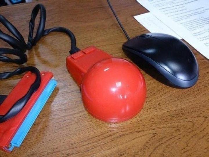 Так выглядела компьютерная мышь 35 лет назад!