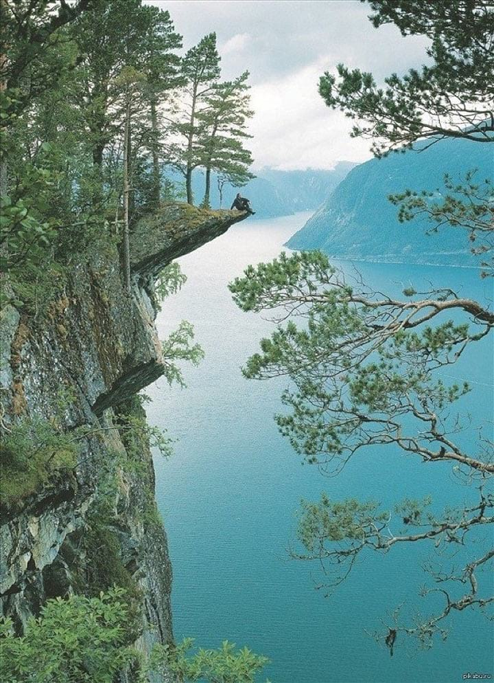 Пейзаж, от которого захватывает дух!