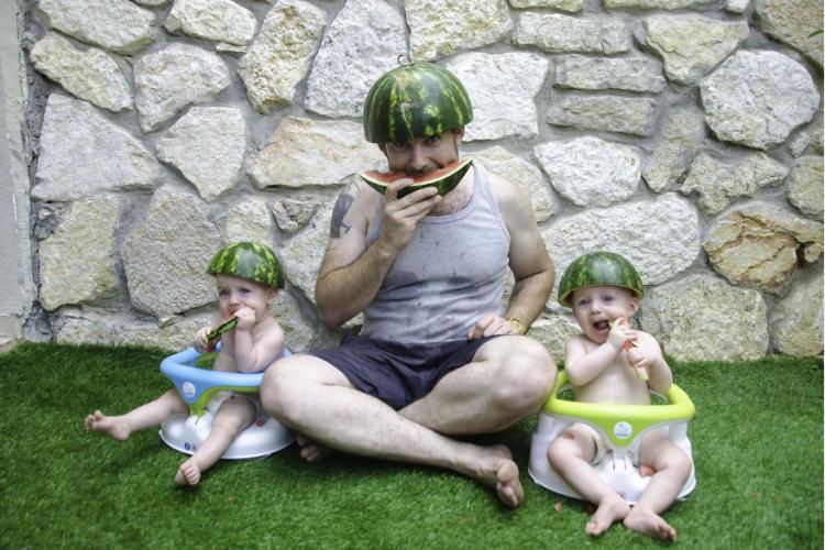 Сразу видно — сыновья в папу
