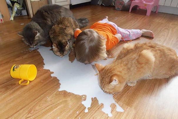 1. Скоро дети начнут думать, что они тоже животные