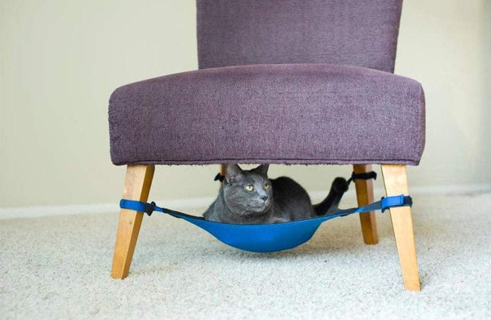 14. Уютный гамак для котеев