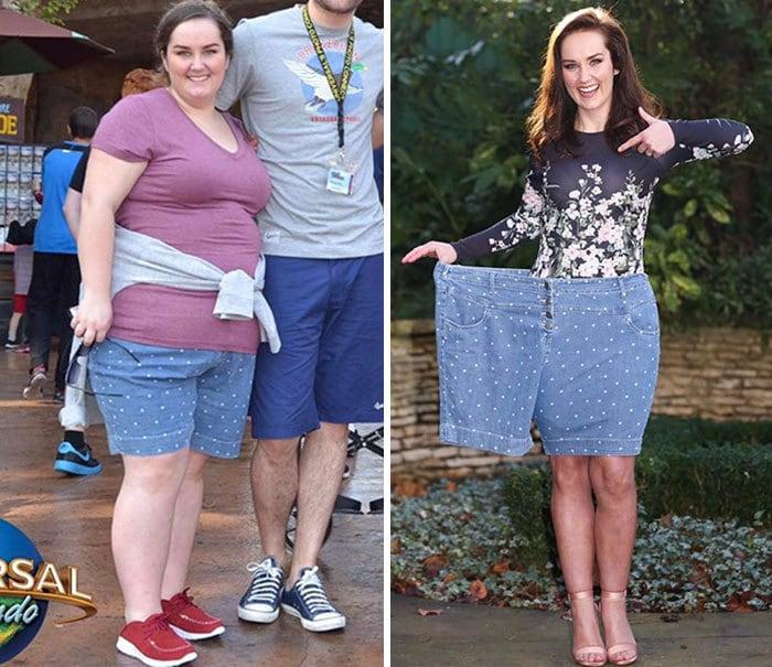 3. Всего год назад эти шорты смотрелись иначе, 122 кг и 61 кг
