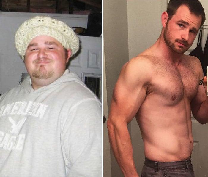 10. Этот человек долгое время ел только фаст-фуд, но потом взял себя в руки, потерял 140 кг и нашёл свою любовь