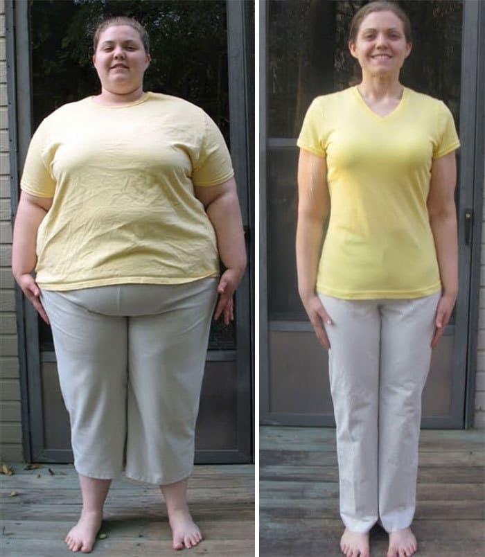 20. Потеря веса действительно идёт на пользу