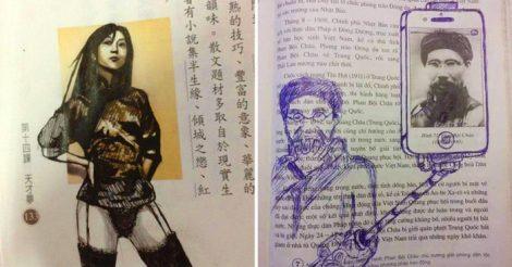 рисунков в учебнике