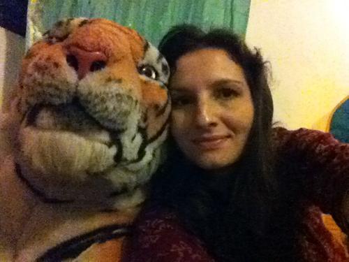 56. Ну вот и все, делаем прощальное селфи с тигром, дальше умываться и спать.