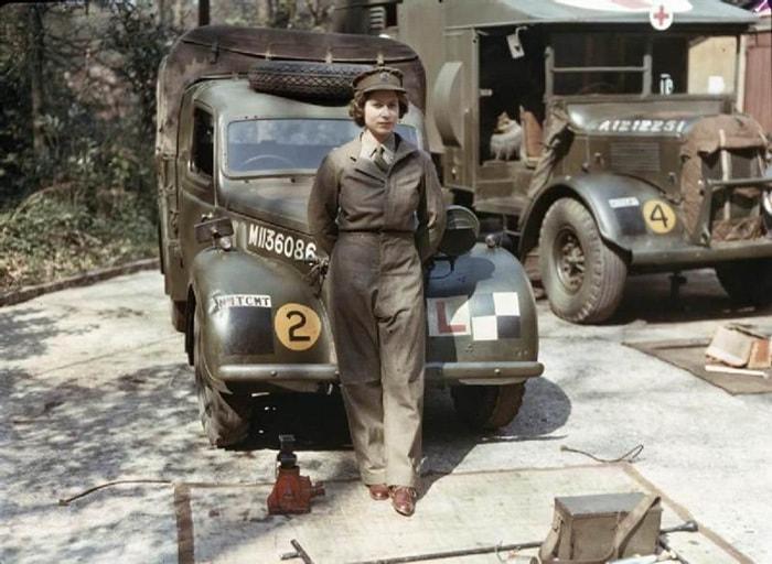 3. Восемнадцатилетняя принцесса Елизавета, Вторая мировая война, 1945