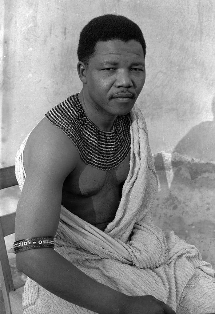 10. Молодой Нельсон Мандела, 1961