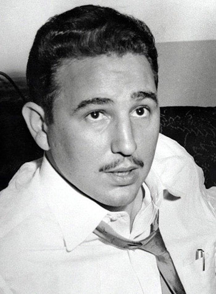 18. Портрет Фиделя Кастро в Нью-Йорке, 1955