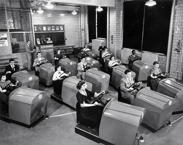 6. Школа вождения, 1953 год