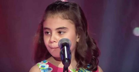 девочка из Сирии
