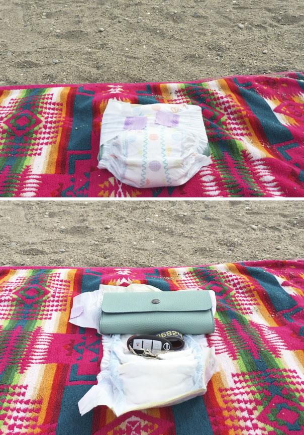 Лайфхак для пляжа