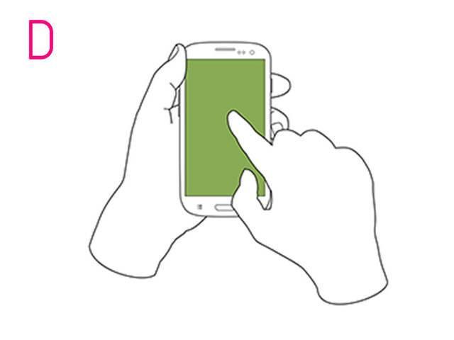 Как вы держите свой телефон — узнайте какой у вас характер!