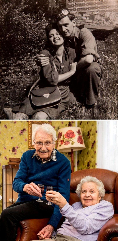 Оставшаяся в живых после холокоста и солдат, который спас её. Они вместе больше 70 лет