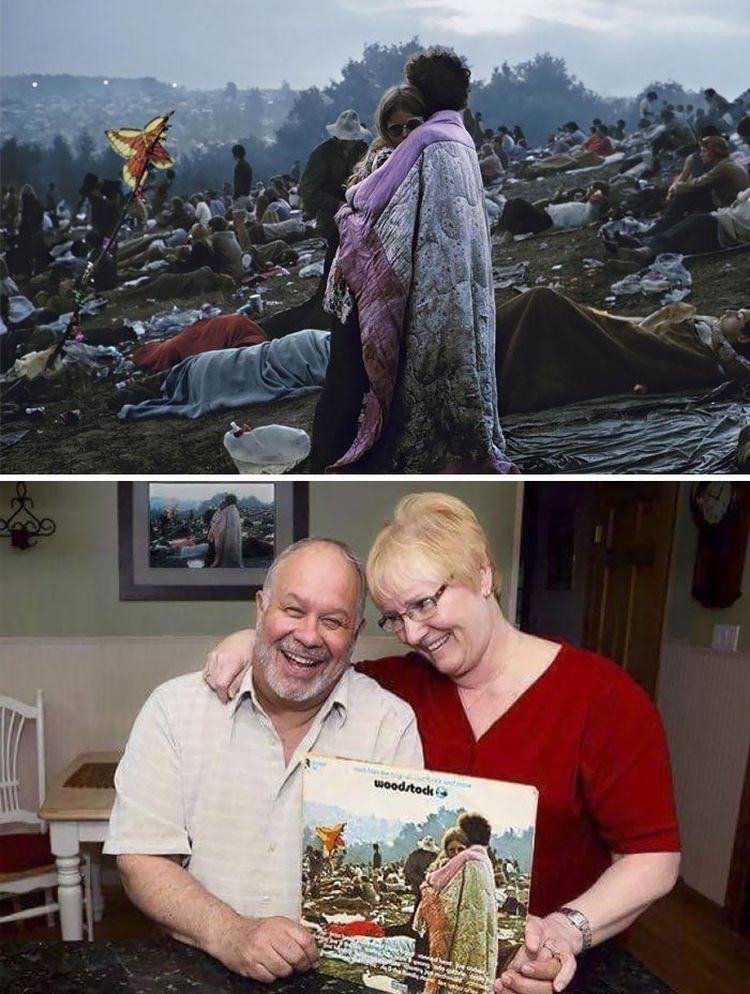 Пара на фестивале Вудсток всё ещё вместе спустя 46 лет