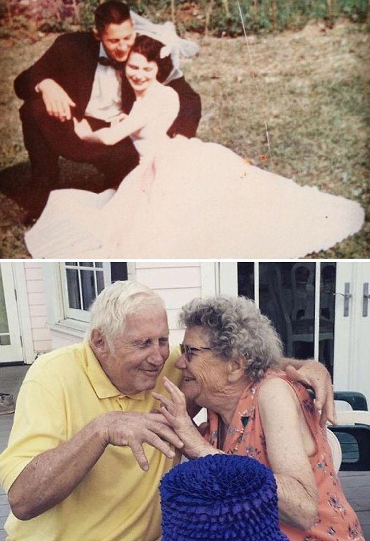 «Мои бабушка и дедушка. Они вместе вот уже 60 лет»