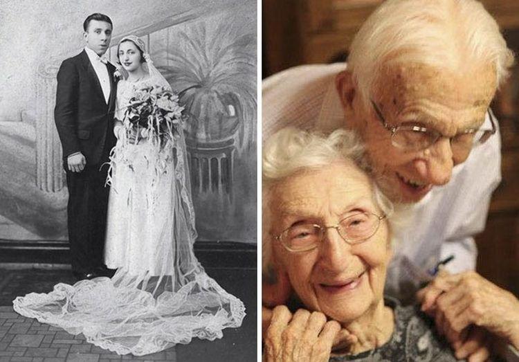 Эта пара состоит в браке вот уже 81 год