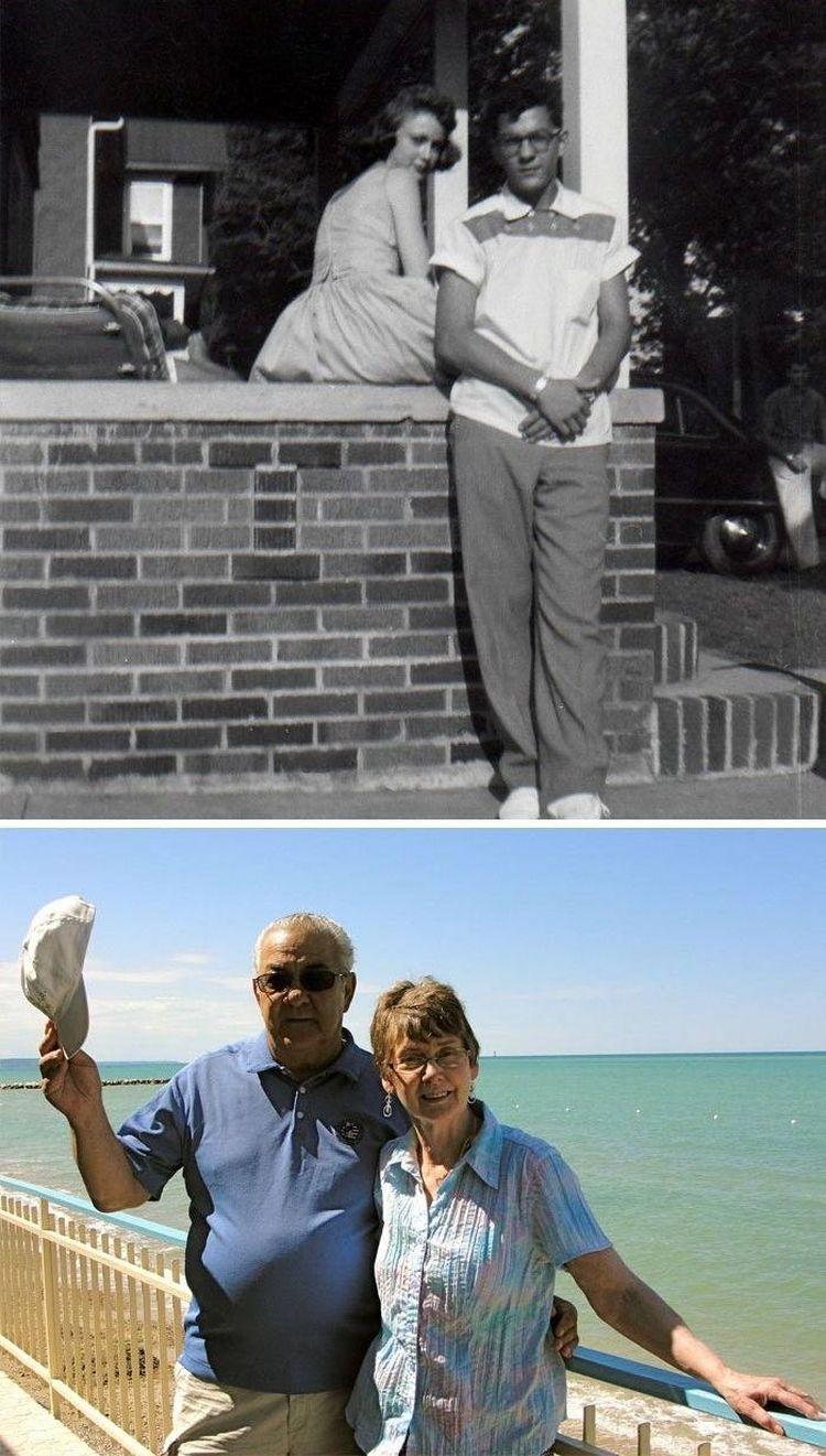 «Мои бабушка и дедушка в 50-е и сегодня»